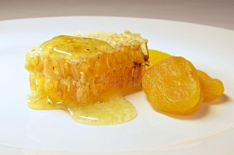 Honeycomb zamknięty up obraz stock
