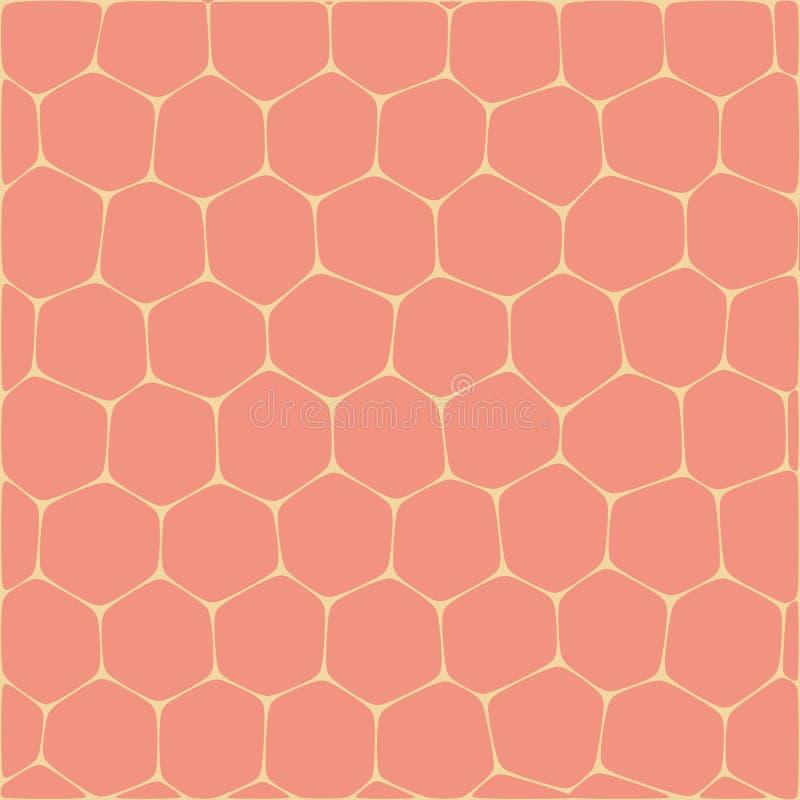 Download Honeycombs illustration de vecteur. Illustration du grille - 87706133