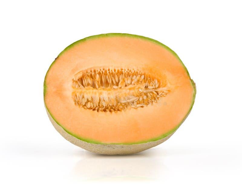 Honeydew. Juicy honeydew melon on a white background stock photo