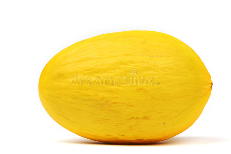 Honeydew melon. Isolated on white stock photography