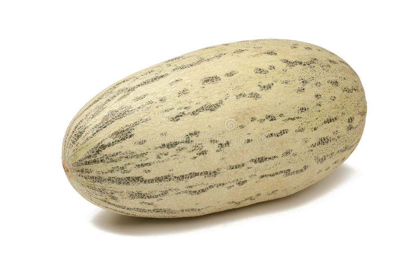 Honeydew melon. On white with path royalty free stock photo