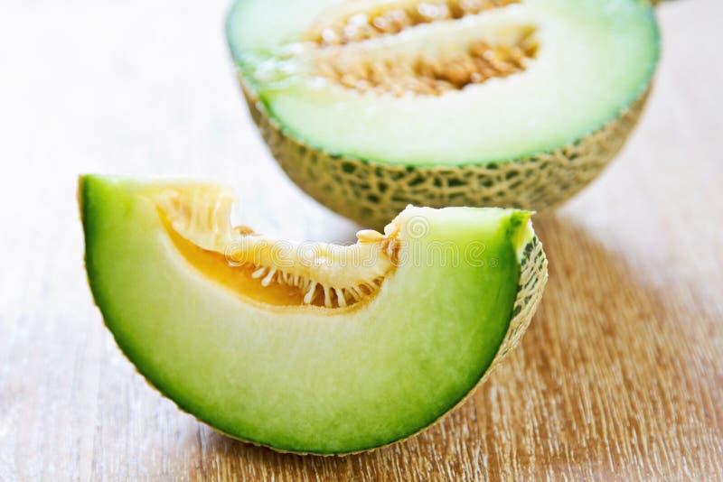 Honeydew. A type of Melon called Honeydew stock photos