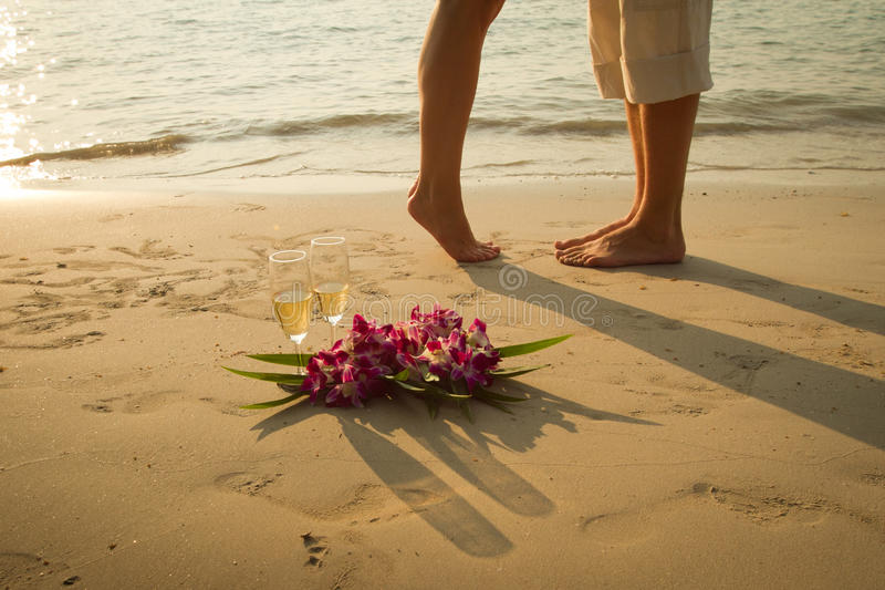 Honeymoon royalty free stock images