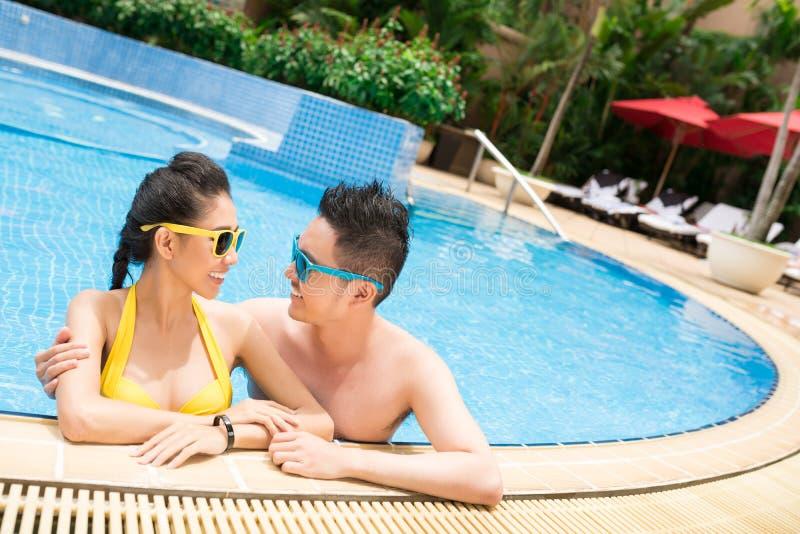 honeymoon stock foto's