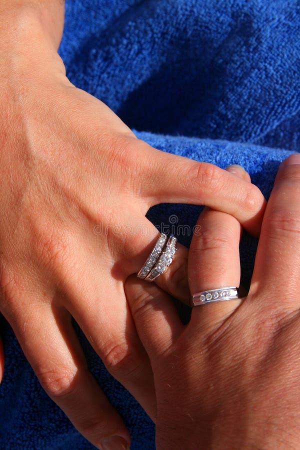 Honeymoon Hands stock photos