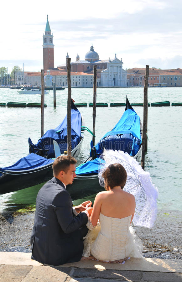 Free Honeymoon In Venice Royalty Free Stock Photography - 24978097