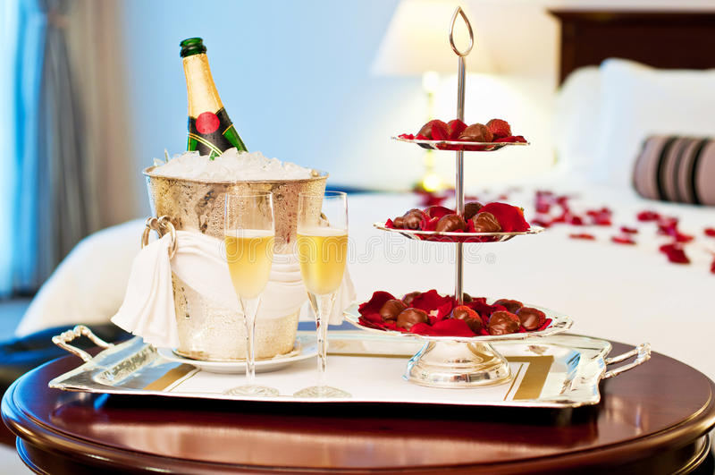 Honeymoon suite royalty free stock photography