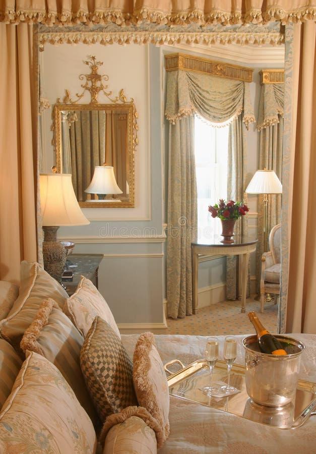 Honeymoon suite stock photos