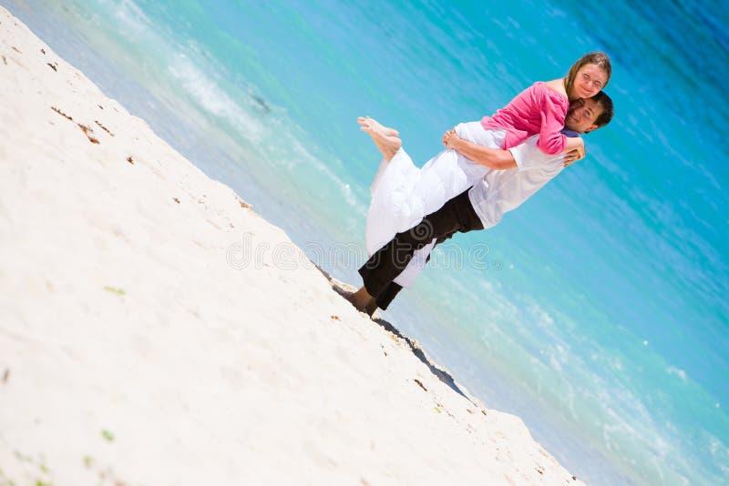 Honeymooners royalty free stock images