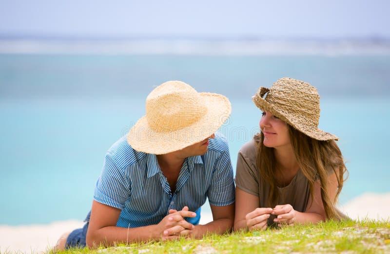 Honeymooners royalty free stock photography
