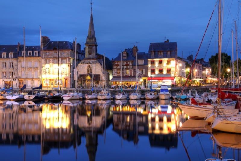 honfleur Франции стоковая фотография rf