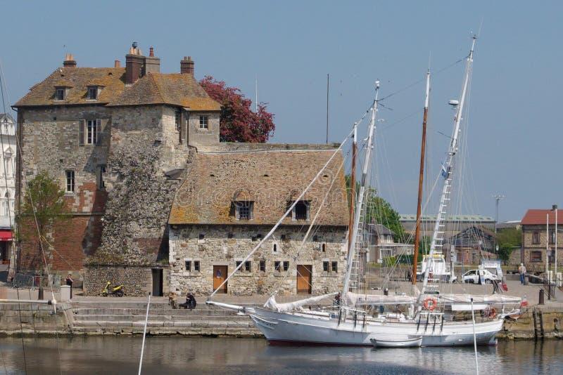 Download Honfleur 2 stock photo. Image of berth, customs, harbor - 11642176
