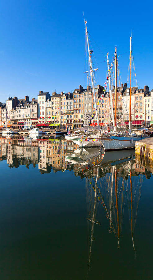 Honfleur, France imagem de stock royalty free