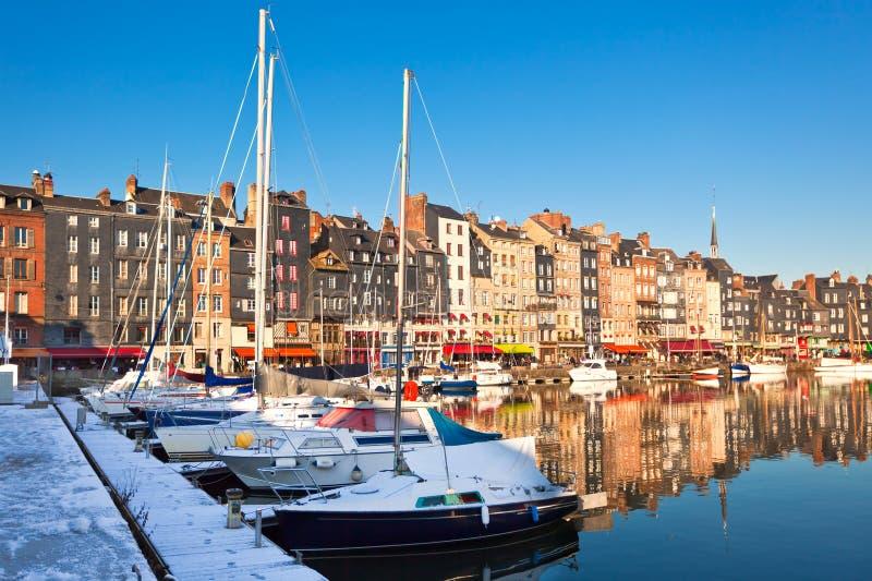 Honfleur, France stock images