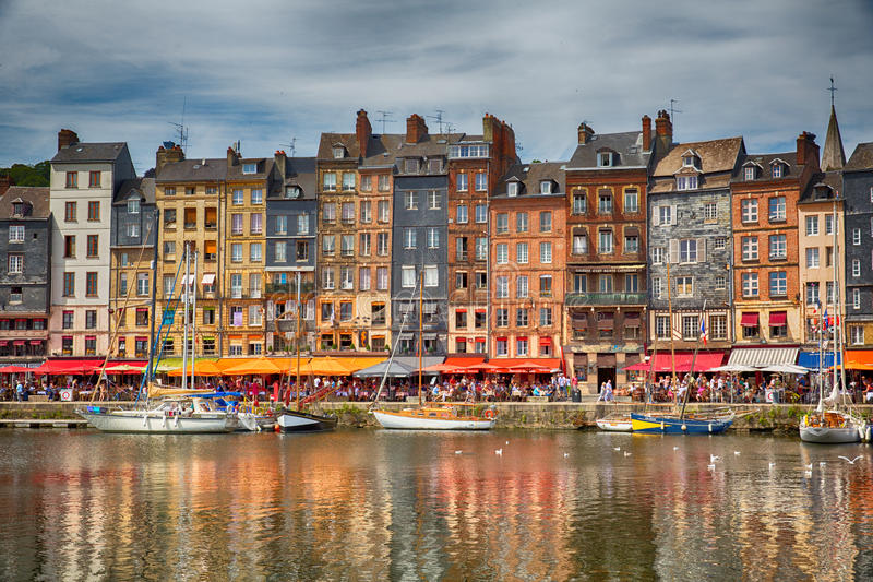 Honfleur, France fotos de stock royalty free