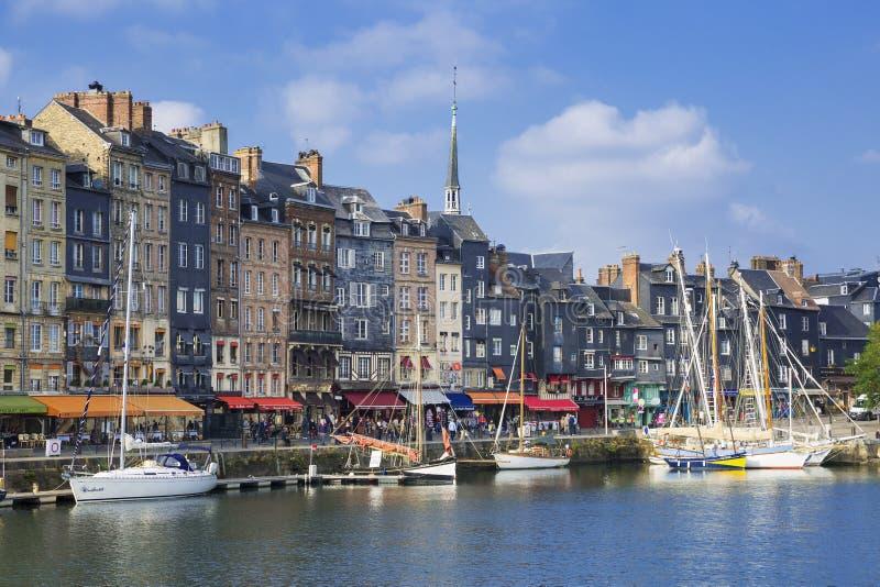 Honfleur, France foto de stock