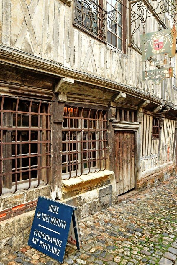 Honfleur, France - 18 août 2016 : musée historique photo libre de droits