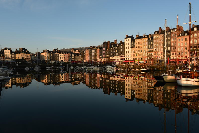 Honfleur France stock photography