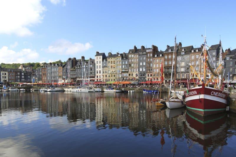 Honfleur, Francia immagini stock libere da diritti