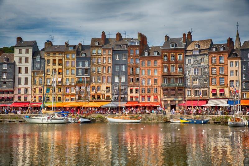 Honfleur, Frankreich lizenzfreie stockfotos