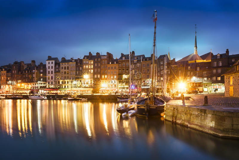 Honfleur, Normany, France stock photography