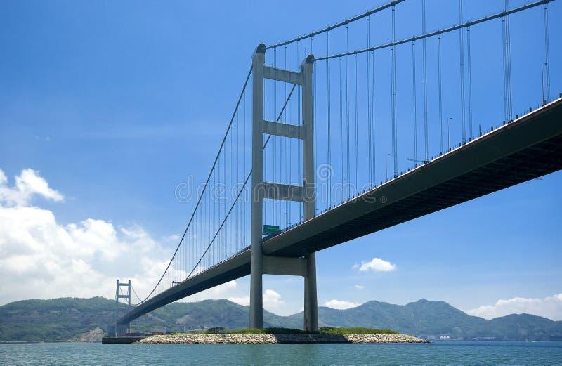 hong bridżowy kong zdjęcia royalty free