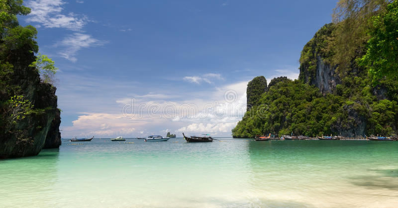 Hong Island, Krabi, Tailandia imagen de archivo