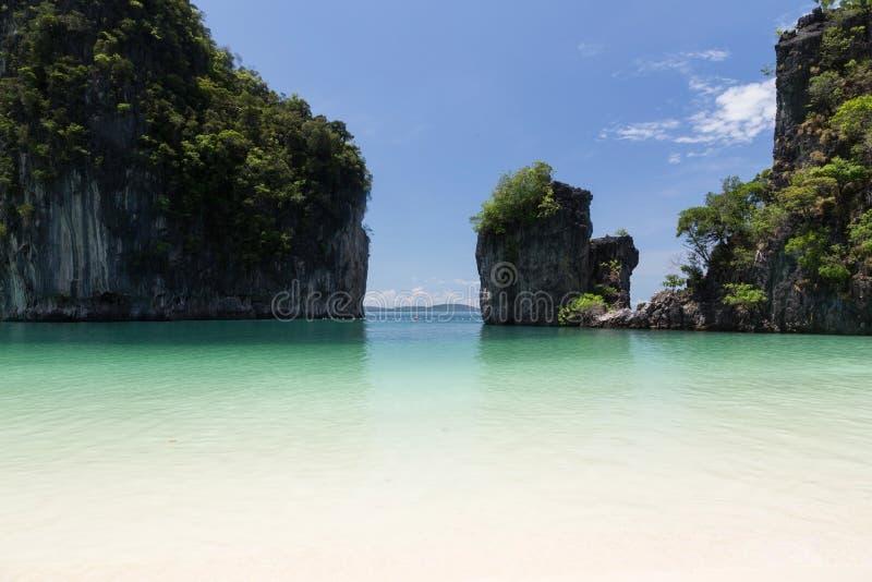 Hong Island, Krabi, Tailandia foto de archivo
