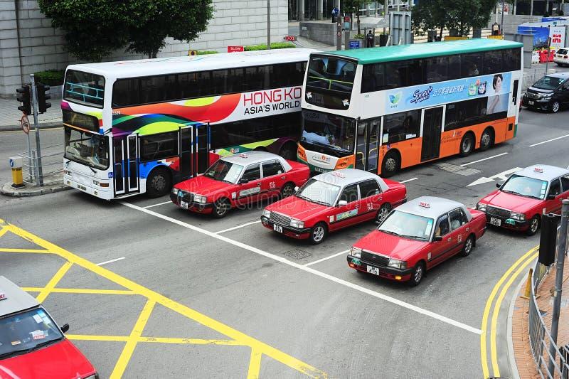 Hong- Kongöffentliche Transportmittel stockfotografie