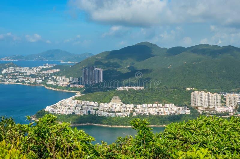 Hong Kong śladu piękni widoki i natura zdjęcie royalty free