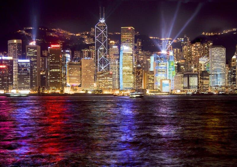 Download Hong kong stock image. Image of neon, tourist, street - 14859705