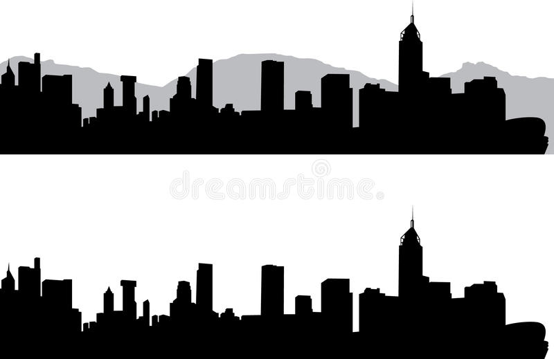 Hong Kong иллюстрация вектора