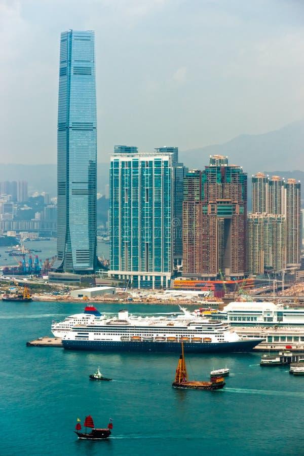 Hong Kong. royaltyfri bild