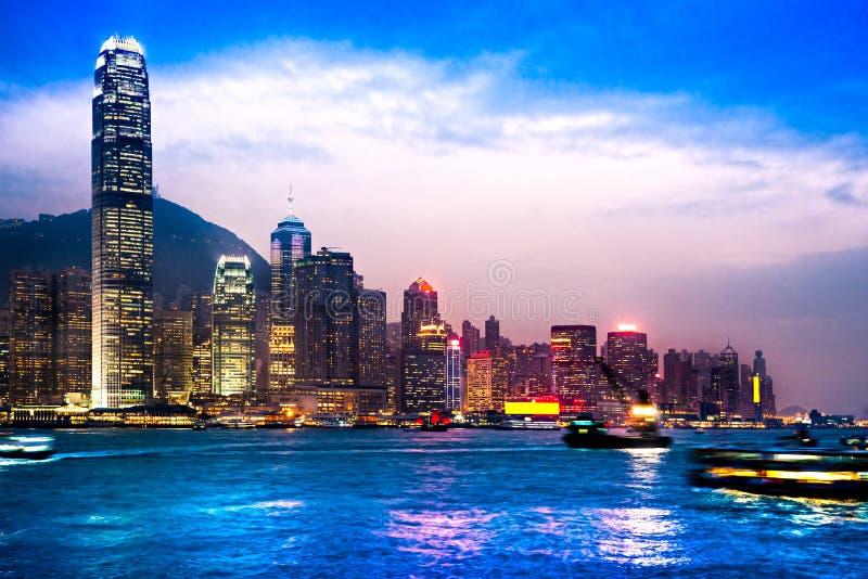 Hong Kong. arkivbild