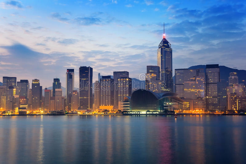 Hong Kong stock foto