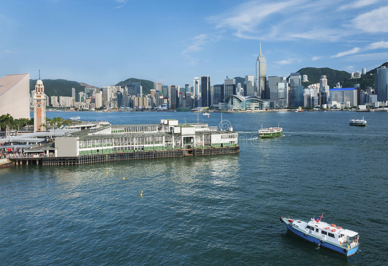 Hong Kong stock afbeelding