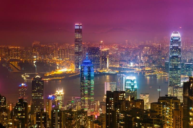 Hong Kong. royaltyfri foto
