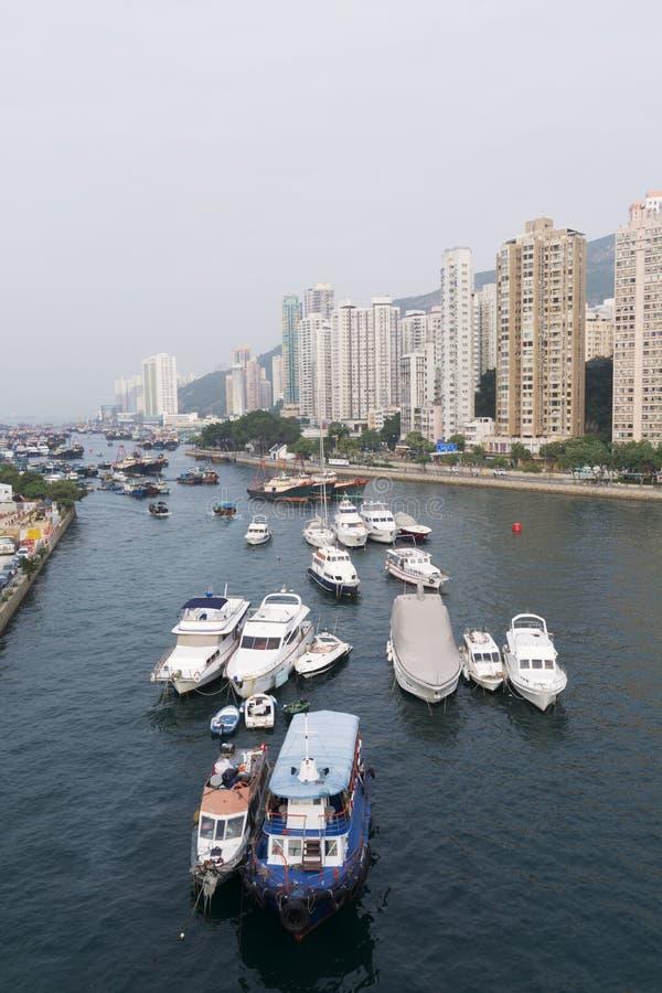 Hong Kong - Aberdeen foto de stock