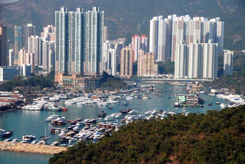 Hong Kong: Aberdeen-Hafen stockfotografie