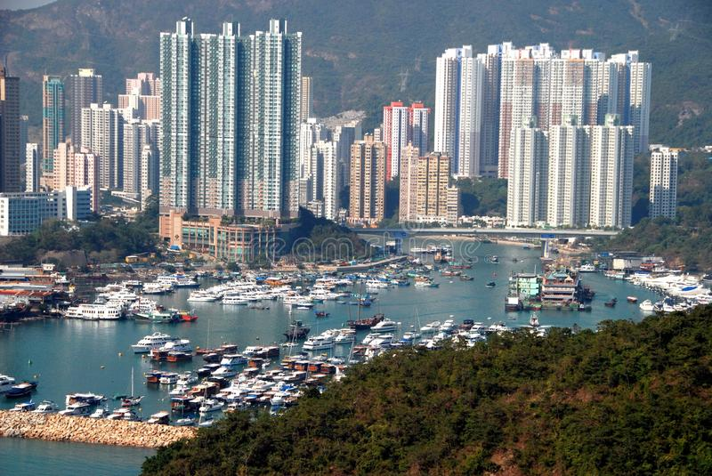 Download Hong Kong: Aberdeen Harbour Editorial Photography - Image: 14207072
