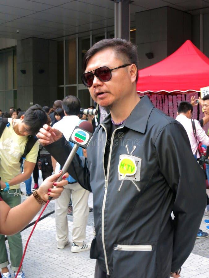 Hong Kong Actor Ai Wei royalty-vrije stock foto