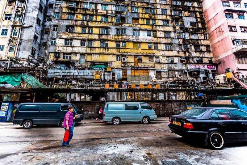 Hong Kong anziano fotografia stock