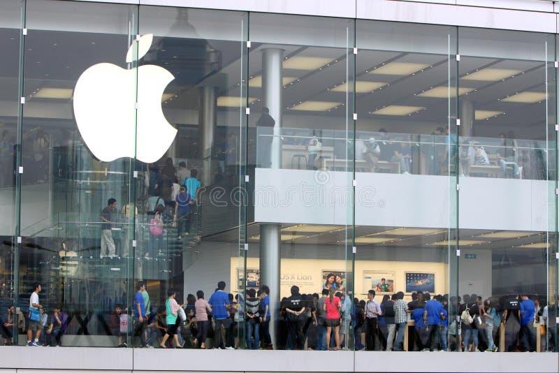 Hong Kong : Apple Store royalty free stock images
