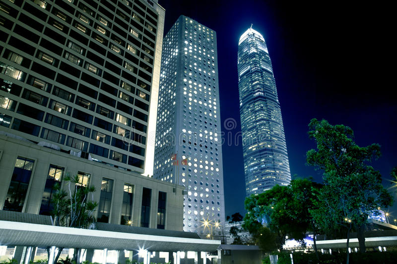 Hong Kong Architecture royalty free stock photos