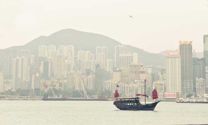 Hong Kong au jour images libres de droits