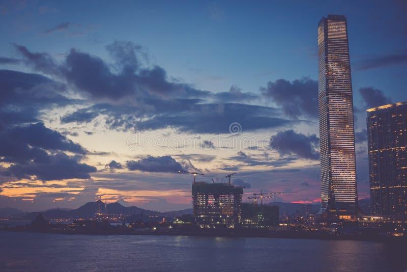 Hong Kong - 17. August 2018: Glättung die Straßen von Hong Kong berühmt lizenzfreie stockbilder