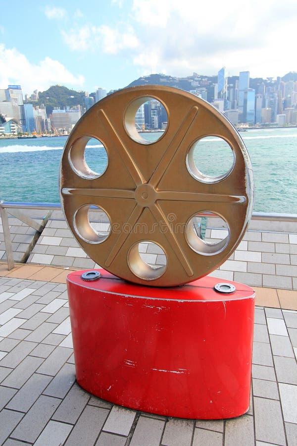 Hong Kong The Avenue of Stars royalty free stock photos