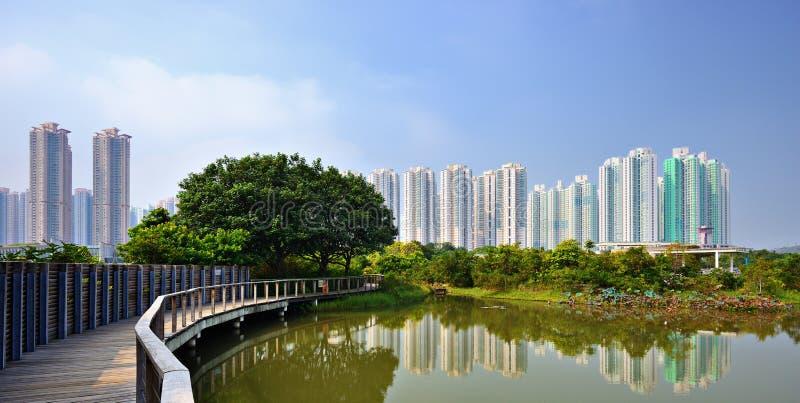 Hong Kong bagna park zdjęcie royalty free