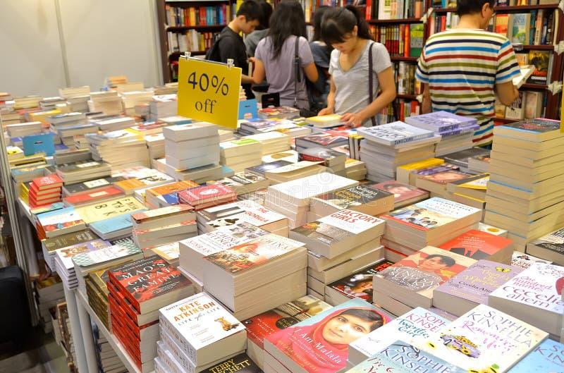 Hong Kong Book Fair fotos de stock royalty free