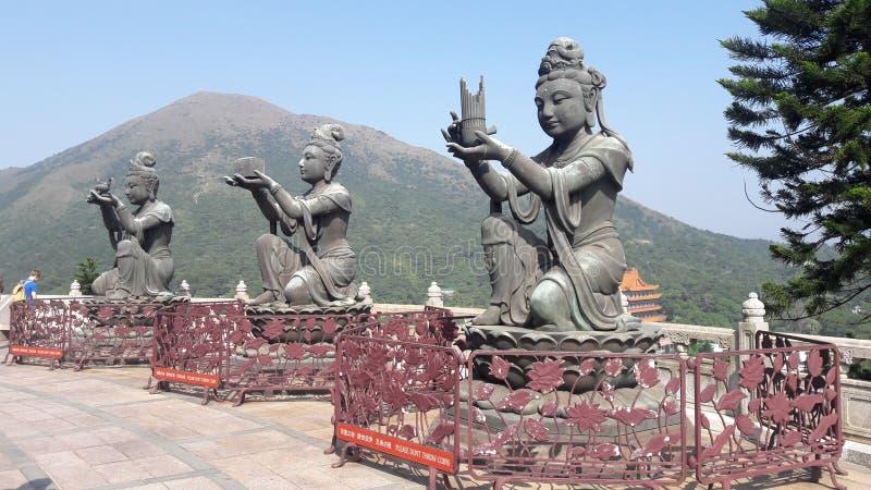 Hong kong buda antiuqe travel china ofrenda stock image